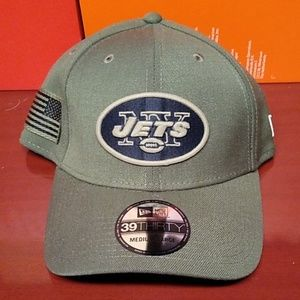 New Era New York Jets Salute To Service Hat Cap